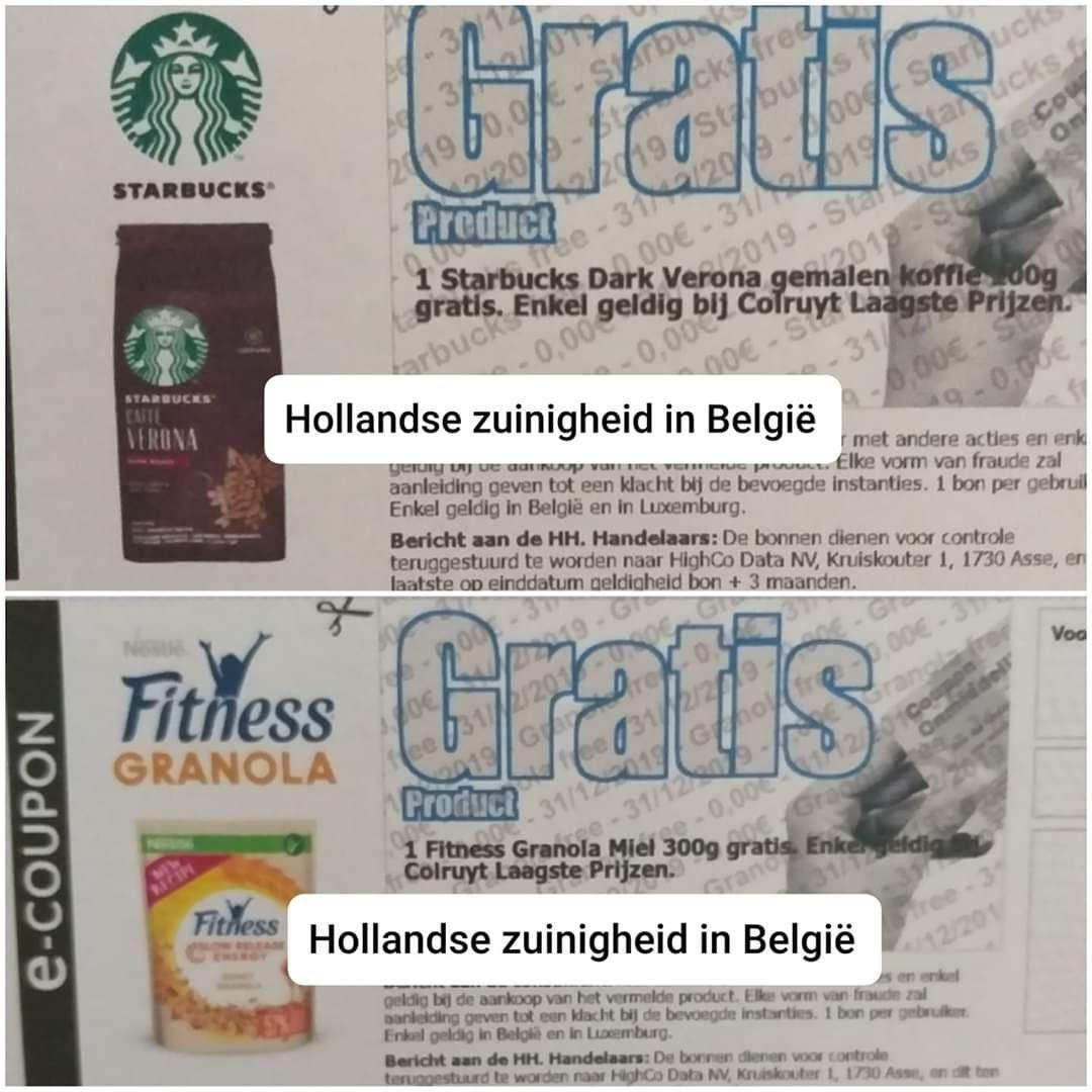 [Grensdeal België] 2 gratis Nestlé artikelen (o.a. Starbucks koffiebonen en Garden Gourmet)