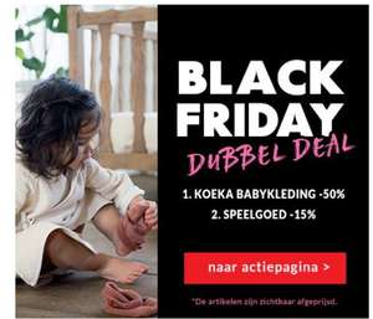 50% korting op Koeka babykleding bij Kixx Online