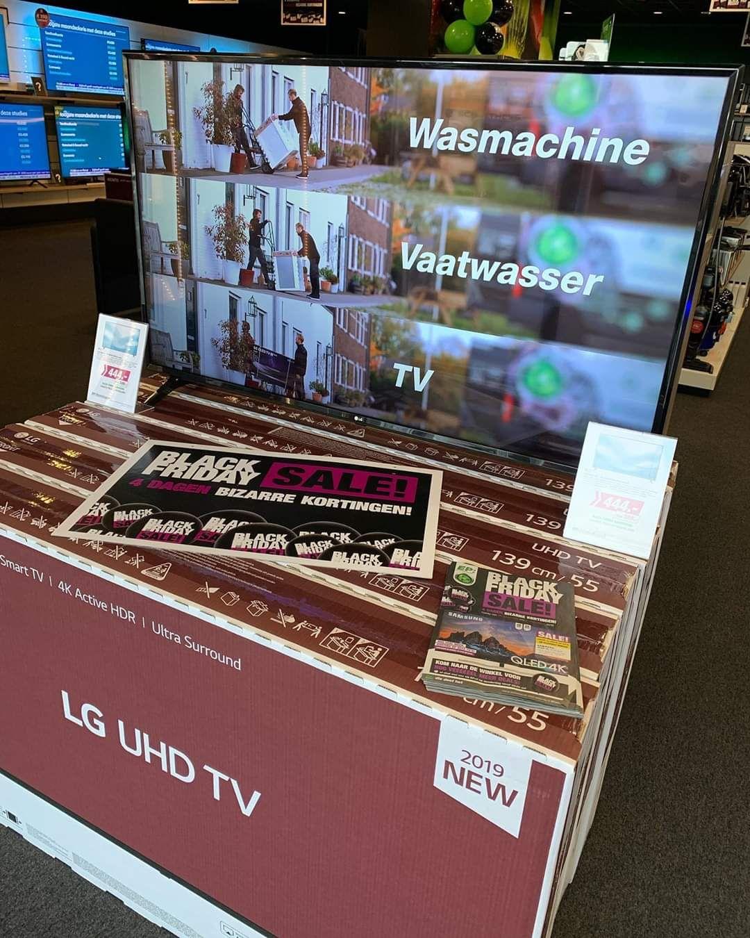 [BLACK FRIDAY] LG 55inch 4K Smart TV @EP
