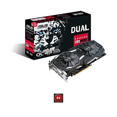 ASUS Radeon Dual RX 580 €25,- Cashback actie Amazon.de