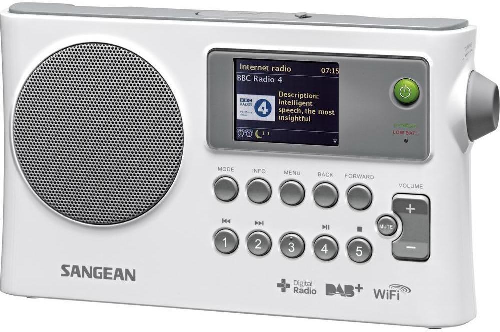 Sangean WFR-28C DAB+ Radio - Wit @ AO.nl
