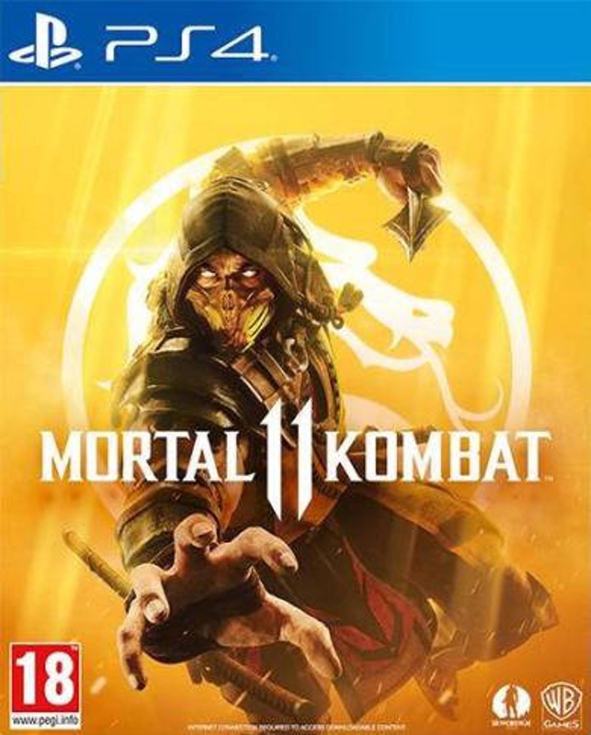 Mortal kombat 11 voor ps4