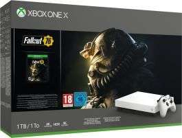 Xbox One X Console Robot White Special Edition (1 TB) + Fallout 76 @ YGZ
