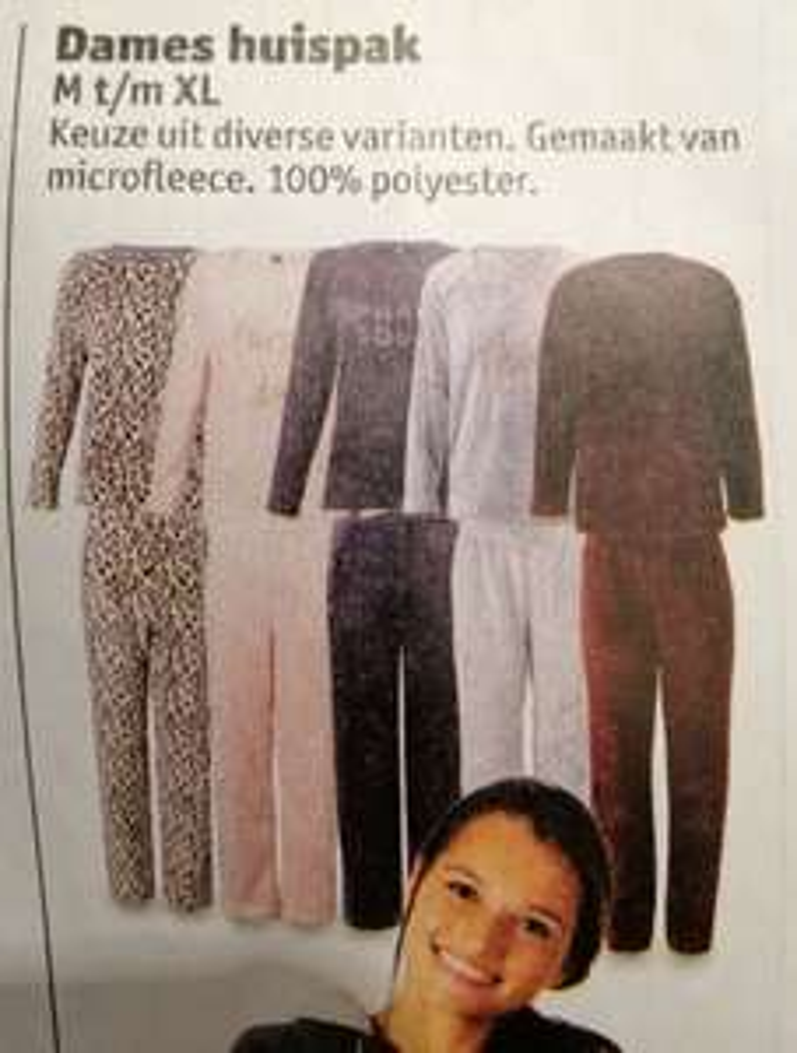Dames fleece onesie of huispak bij Kruidvat