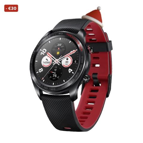 Honor Watch Magic Smartwatch Zilver/Bruin of Rood/Zwart voor €99,90 @ honor official NL