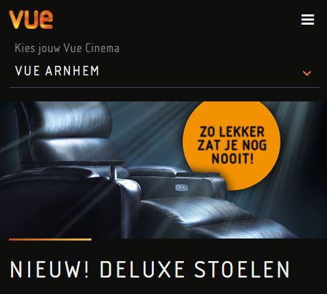Super Tuesday: Voor €6 in een luxe stoel naar de film (inclusief 3D toeslag)
