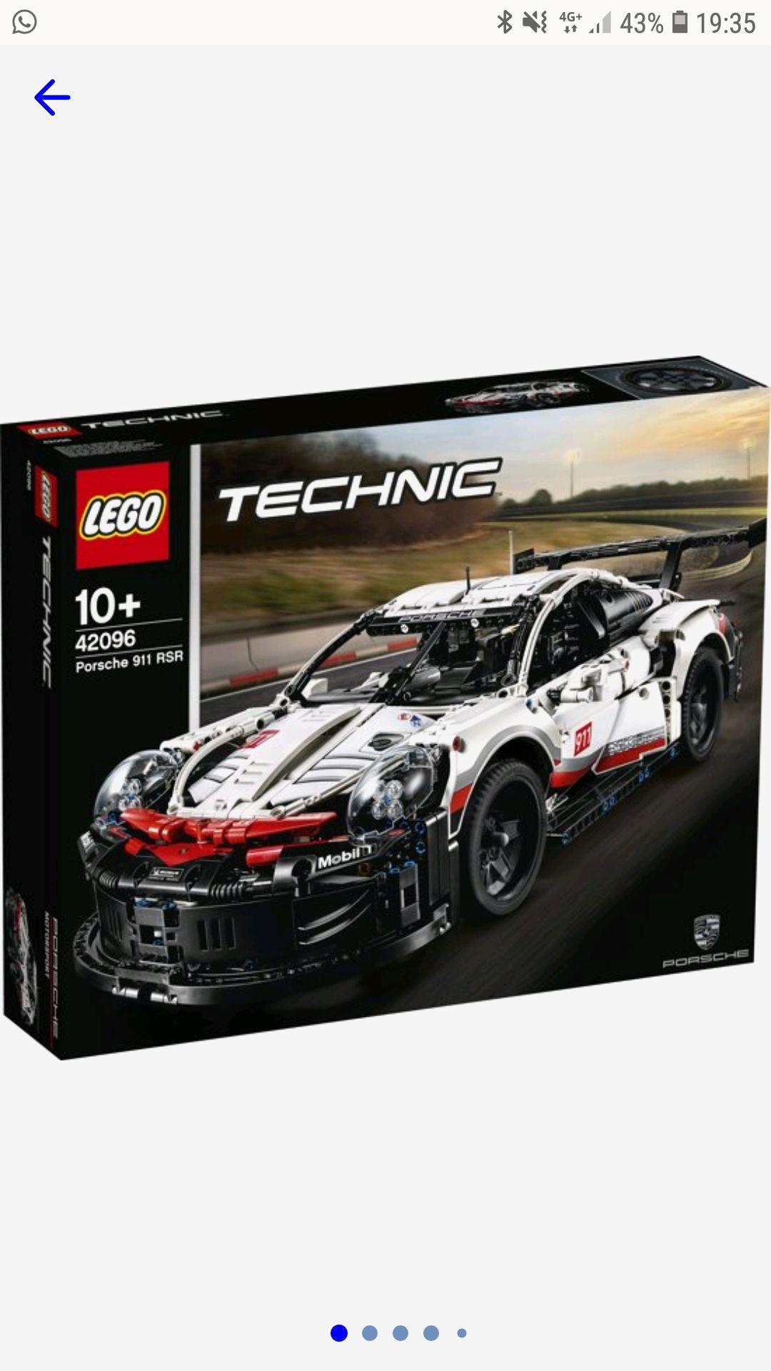 Lego 42096 porsche rsr