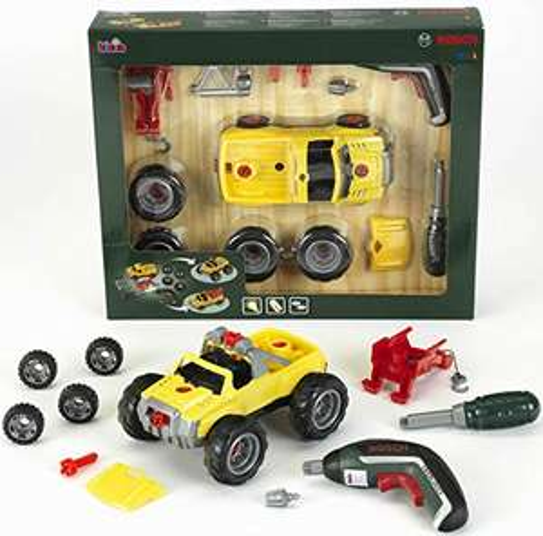 (Amazon Prime) Theo Klein 8395, Bosch Car Set, 3 in 1
