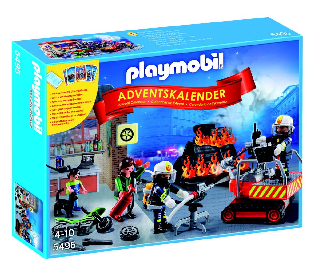 """Playmobil Adventskalender Brandweer / Kerstavond voor €10 @ Toys """"R"""" Us"""
