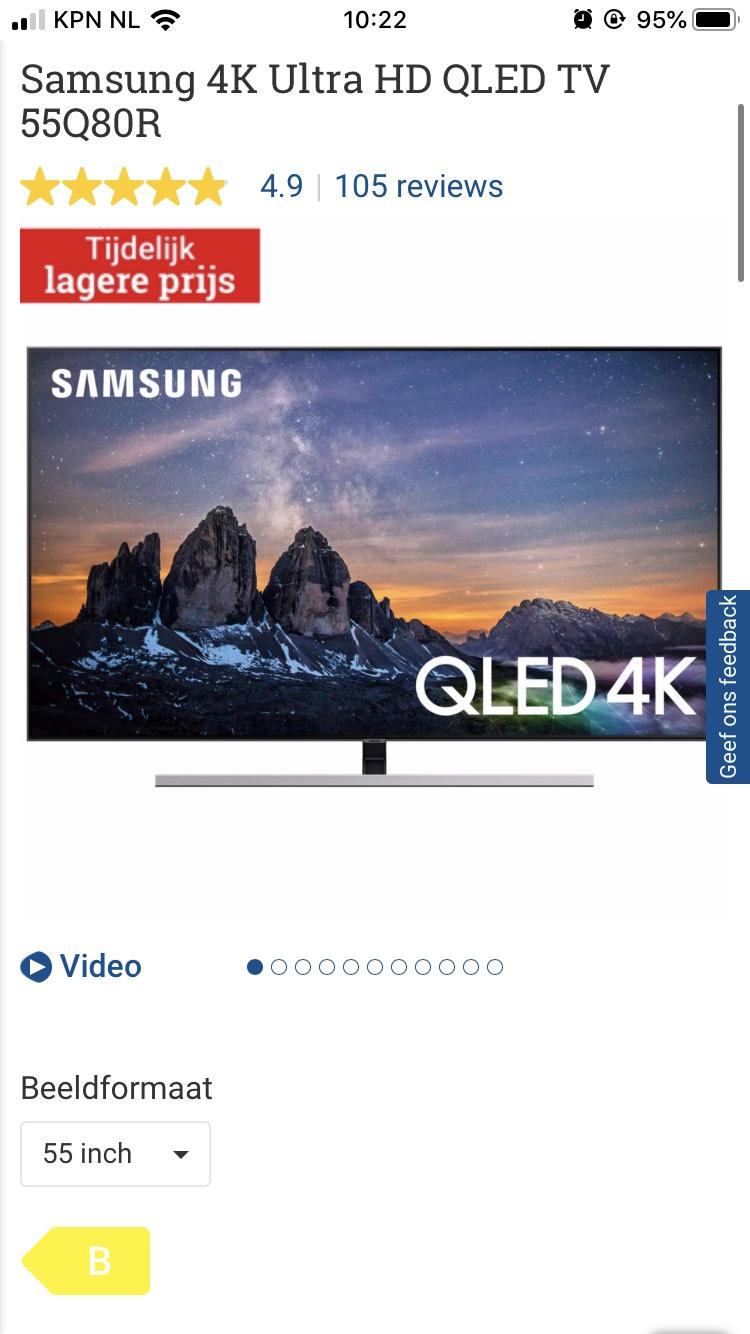 Samsung QLED 4K QE55Q80R