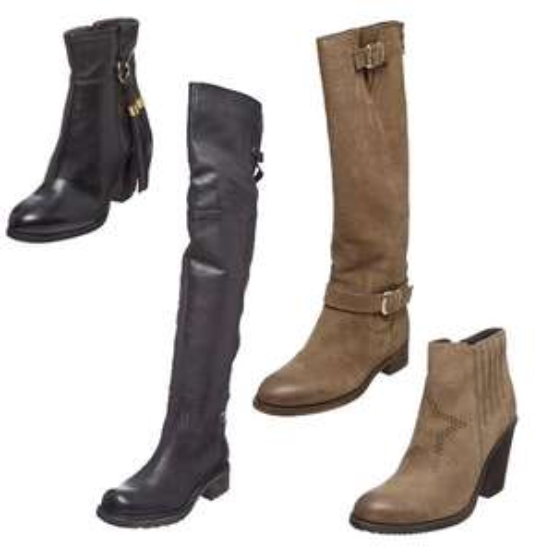 Leren laarzen / schoenen / pumps sale - Jonak Paris va €33 @ Showroomprivé