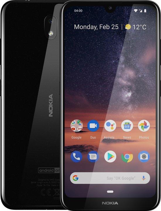Nokia 3.2 (2GB ram) 16GB Zwart voor €99 @ Bol.com