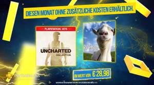 PlayStation Plus games voor Januari | Uncharted the Nathan Drake Collection | Goat Simulator