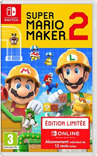 Super Mario Maker 2 Limited Edition (FR) voor Switch (met NSO 1 jr) voor €42,74 @ amazon.fr