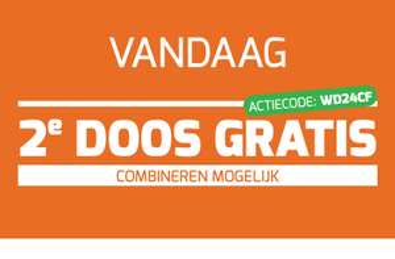Vandaag 2e doos gratis @ Wijnvoordeel