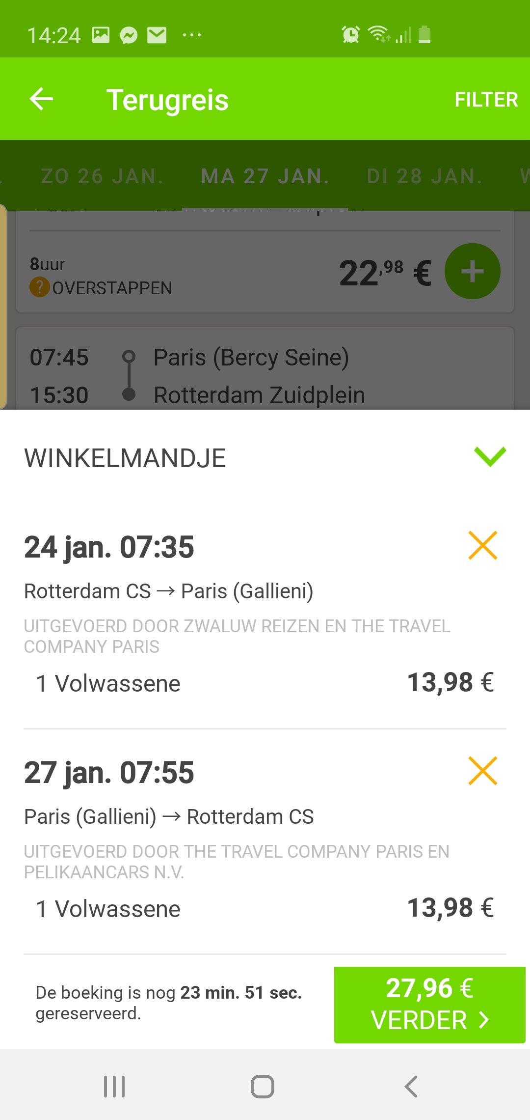 Heen en weer busticket flixbus voor maar €27.96