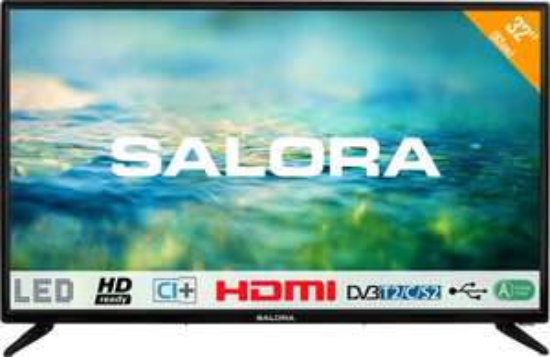 Salora 2100 series 32LTC2100 tv 81,3 cm (32'') HD Zwart