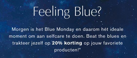 Feeling Blue - 20% korting vandaag bij Estée Lauder