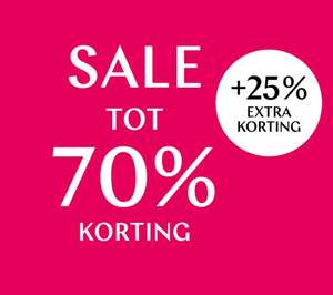 Tot 70% korting + 25% extra @ Steps