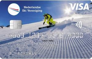 Nu het eerste jaar gratis + € 35,- tegoed @ Visa