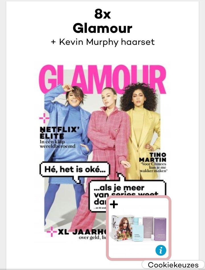 Kevin Murphy haarset bij abonnement Glamour