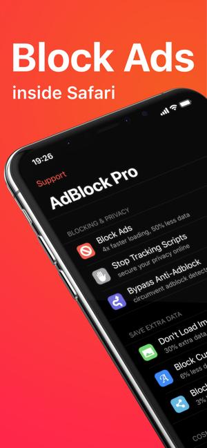 Ad Block Pro voor Safari [iOS/iPhone/iPad] [App]