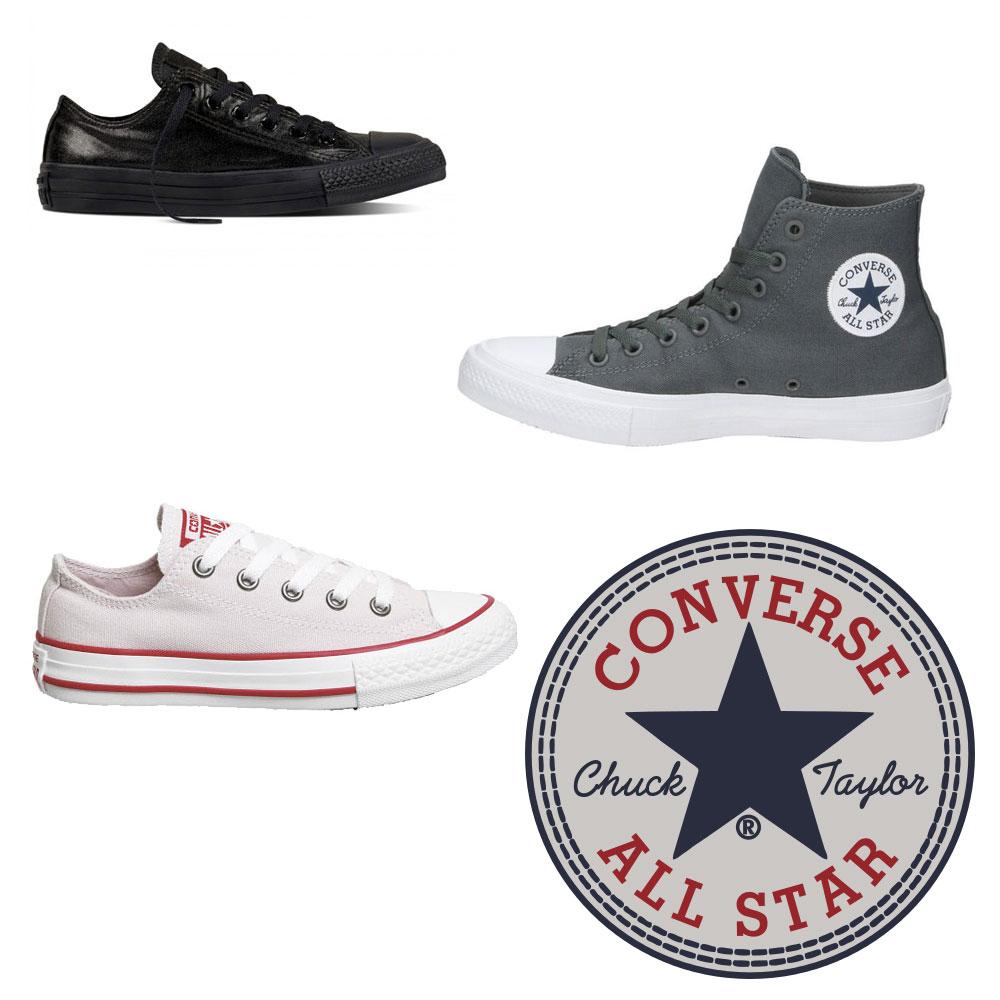 Diverse Converse sneakers 60-70% korting @ Sooco