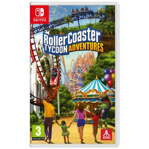 Rollercoaster Tycoon Adventure (Switch)