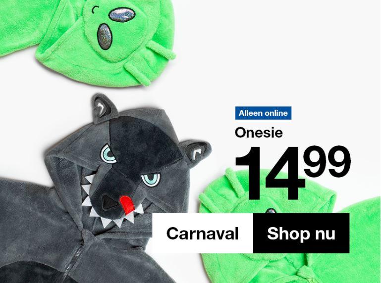 Dames & heren onesies - €12,99 / €14,99 @ Zeeman