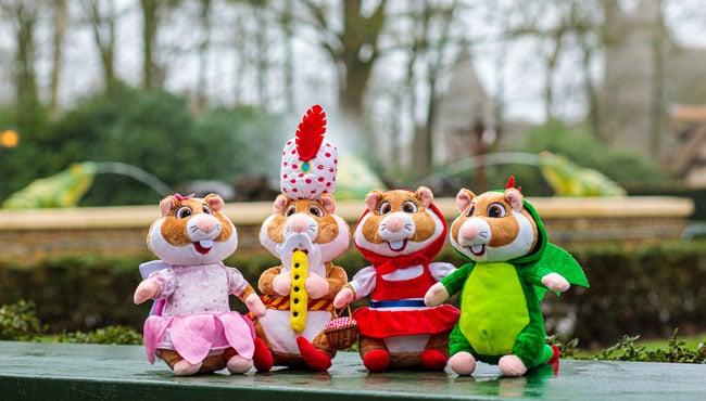 Efteling-hamsters bij Albert Heijn voor € 6,99 of € 7,99