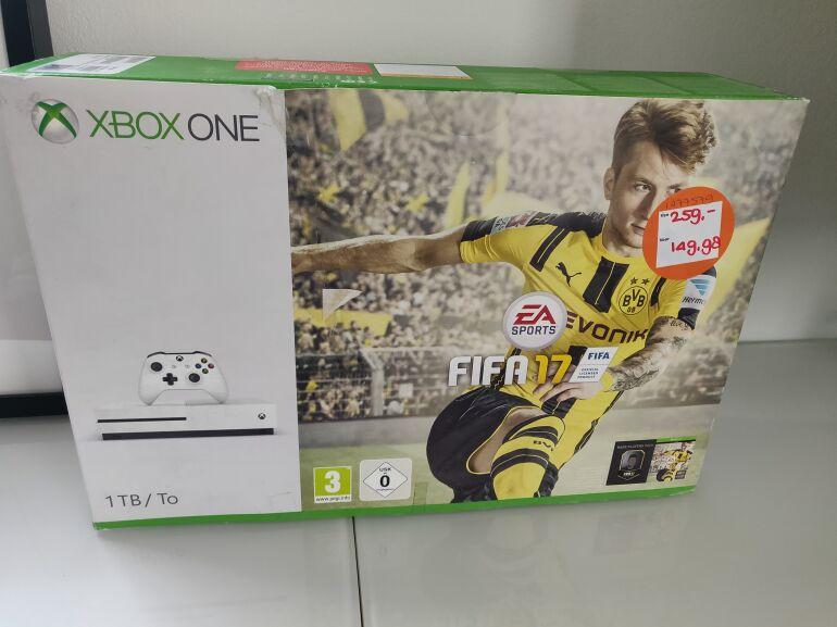 [lokale aanbieding] Xbox One S 1tb incl FIFA 17 @ Intertoys Tilburg