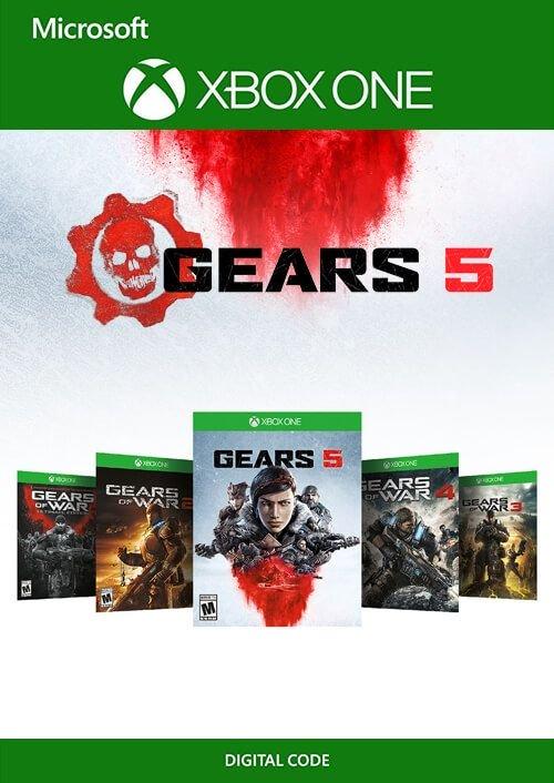 [Xbox One] Gears 5 Bundle (Gears of War Ultimate + 2, 3, 4 & Gears 5) voor €18,29 @ cdkeys