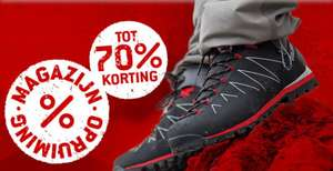 Tot 70% korting op schoenen en kleding van North Face, Timberland, Arc'teryx, Patagonia, Helly Hansen, etc bij BergFreunde.nl