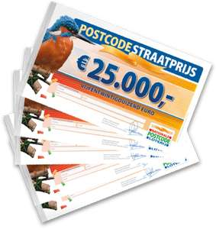 Postcode Loterij: gratis 2 maanden meespelen en 13,50 euro cash