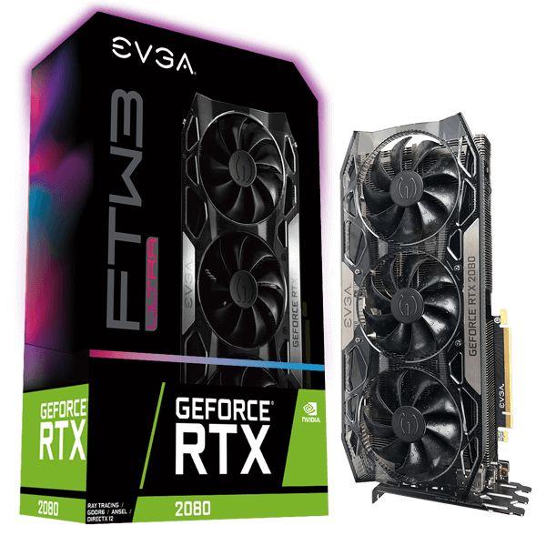 EVGA 08G-P4-2287-KR videokaart GeForce RTX 2080 8 GB GDDR6 @SiComputers