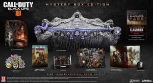 [Xbox] Call of Duty Black Ops 4 Mystery Box Edition (game, collectables en season pass)