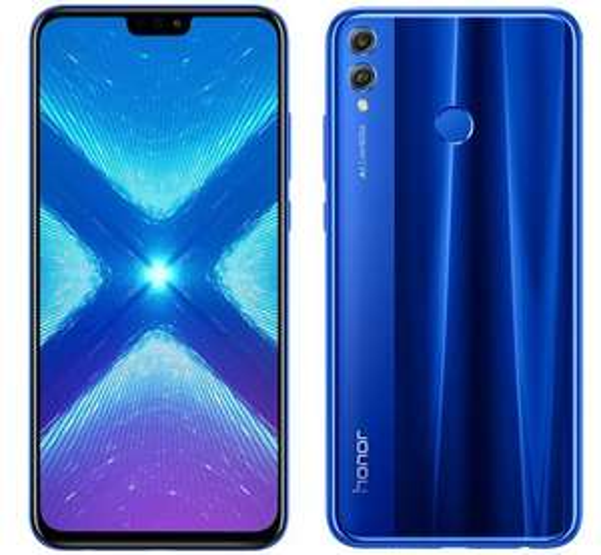 Honor 8X smartphone 4GB/128GB blauw voor €159 @ Honor Official NL