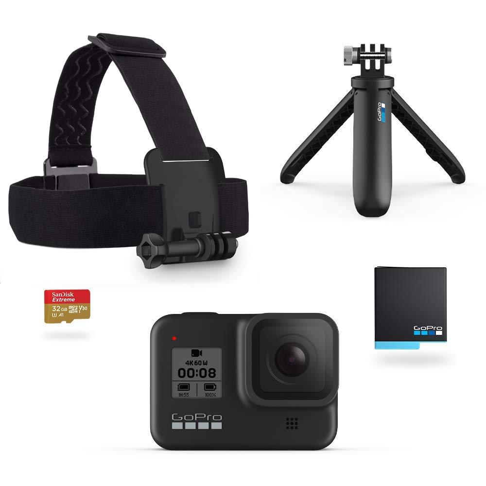 GoPro Hero 8 Black + Holiday Kit (Amazon.nl)