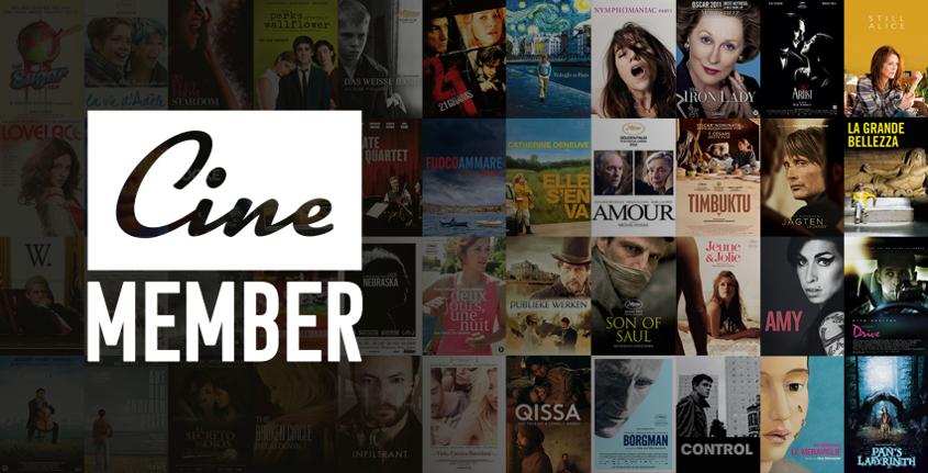 2 maanden gratis toegang tot CineMember voor Simpel leden.14 dagen voor niet Simpel leden.