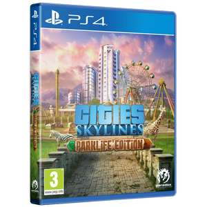 Cities Skylines Parklife Edition PS4/Xbox One