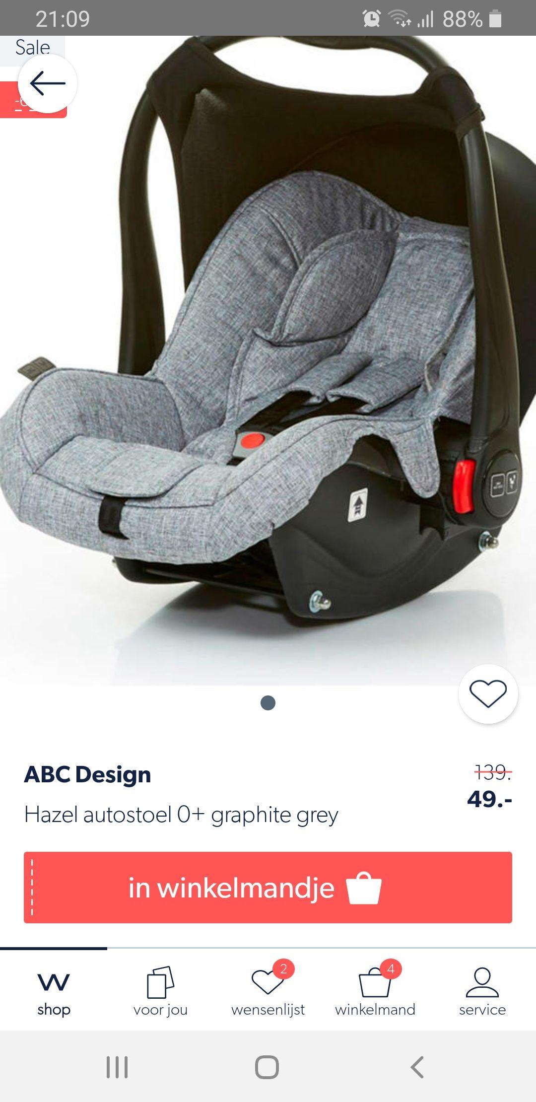 ABC Design 0+ graphite grey