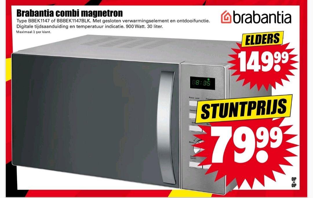 Brabantia combi magnetron