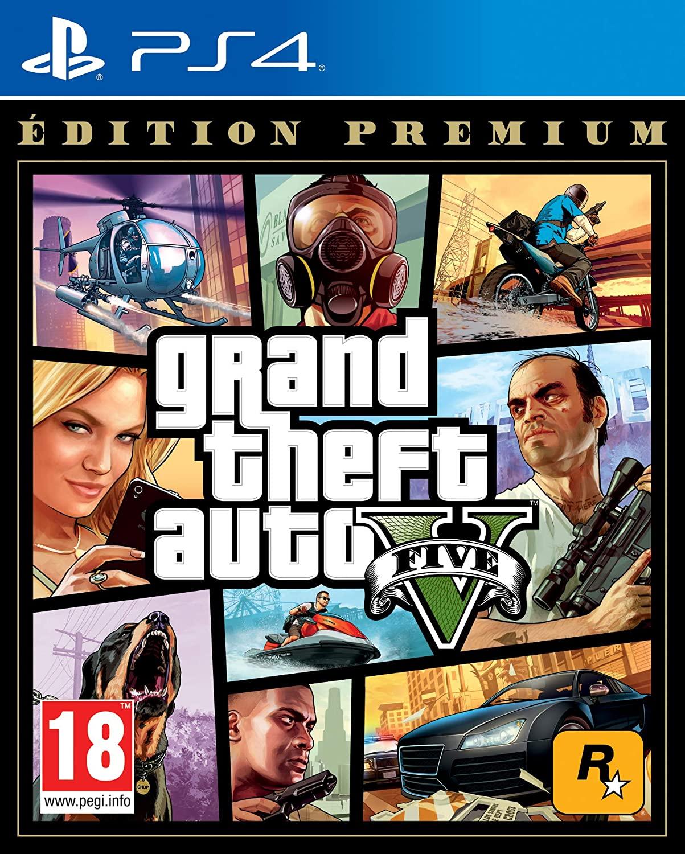 Grand Theft Auto 5 (GTA V) - Premium Edition PS4@amazon.nl