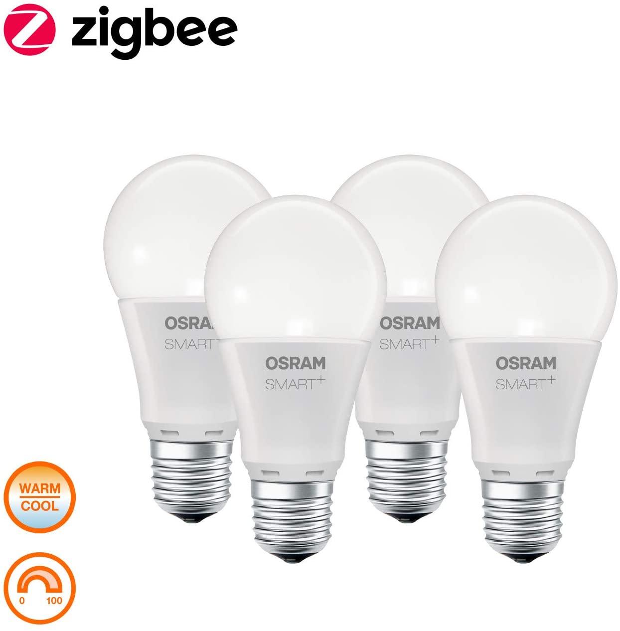 Osram Smart+ ZigBee Ledlamp, Verpakking van 4 [Energieklasse A+]