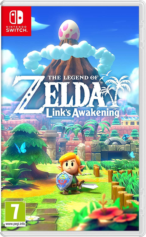 Legend of Zelda Link's Awakening voor de Switch à €43,77 bij Amazon NL