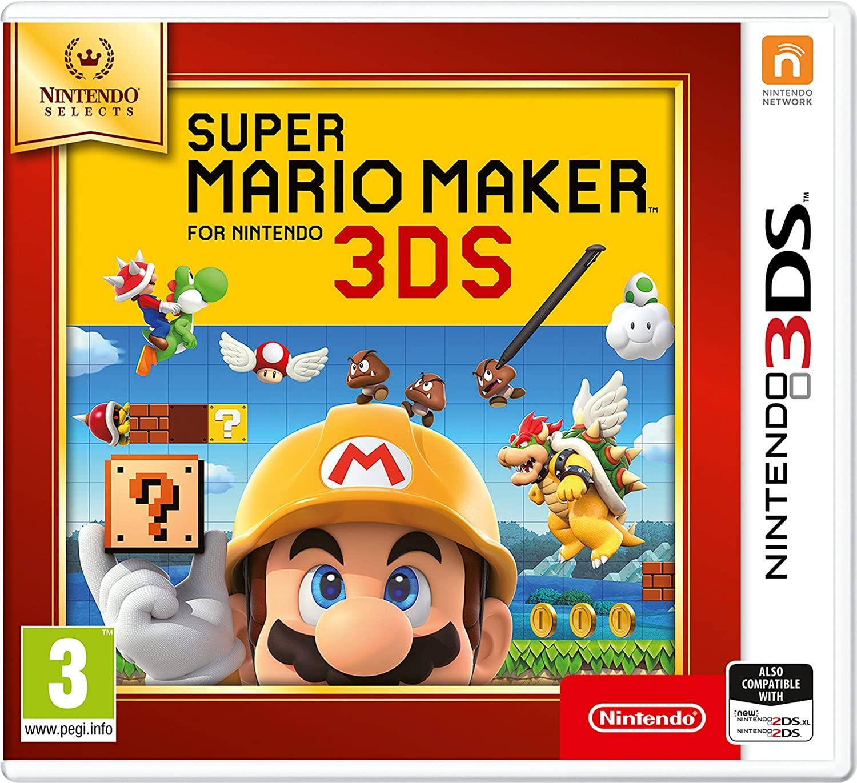 [3DS] Super Mario Maker (Nintendo Selects) voor €13,69 @ Amazon NL