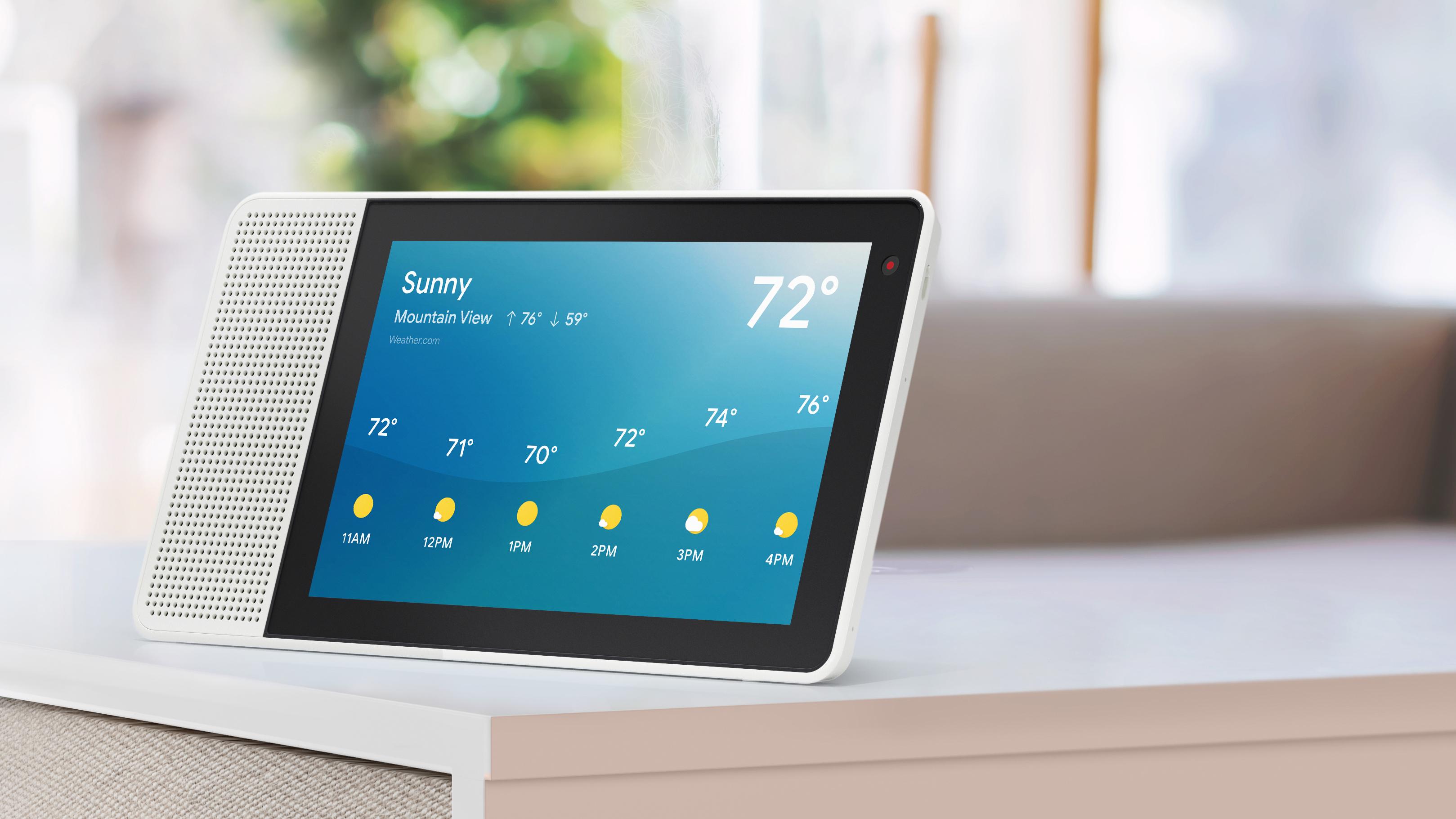 [Grensdeal] Lenovo Smart Display met Google Assistant