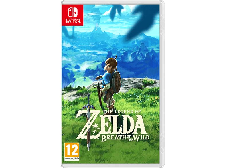 Zelda breath of the wild (Fysieke versie) Switch