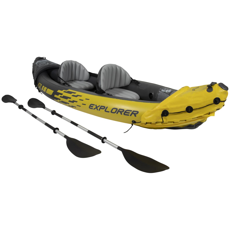 Intex Explorer K2 opblaasbare kano @Action