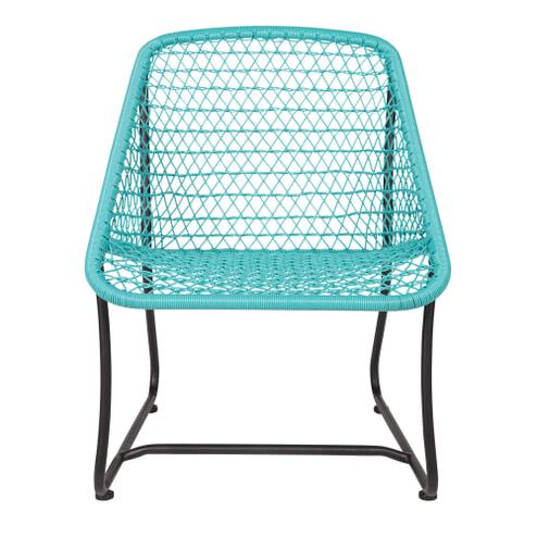 [Meubelpartner.nl] Lounge Stoel Vigo Turquoise (binnen of buiten)